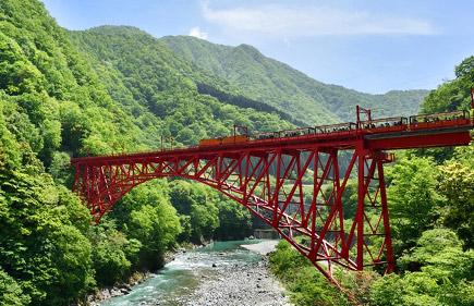 黒部峡谷鉄道・トロッコ電車
